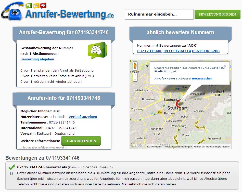 Anrufer-Bewertung.de